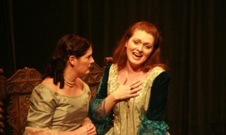 Suzanne Shakespeare as Lucia